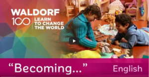 Two children play in a Waldorf early childhood classroom. These videos in English and Spanish  feature Waldorf early childhood education on several continents.